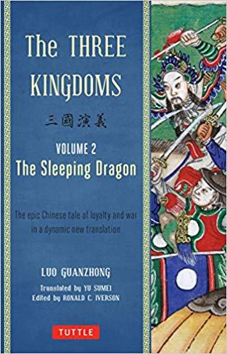 Couverture L'Épopée des trois Royaumes, tome 2