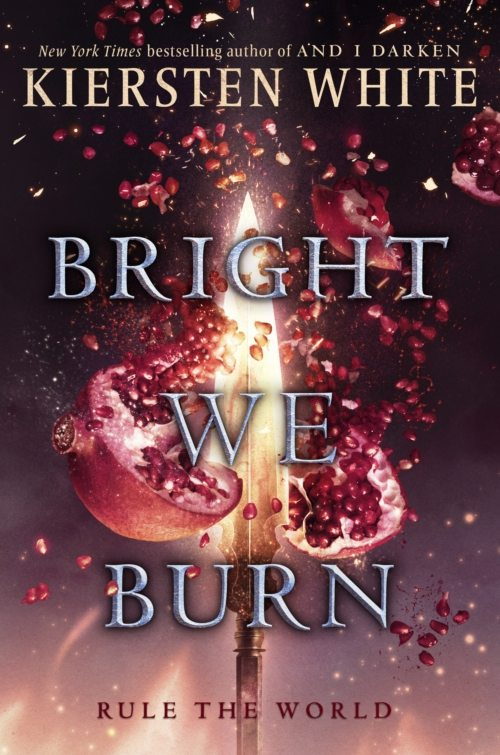 Couverture The Conquerors, book 3: Bright we burn