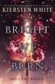 Couverture The Conquerors, book 3: Bright we burn Editions Delacorte Press 2018