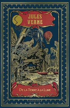 Couverture Voyage lunaire, tome 1 : De la Terre à la lune