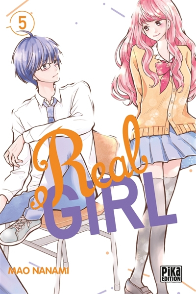 Couverture Real Girl, tome 5