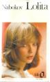 Couverture Lolita Editions Folio  1988