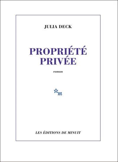 Couverture Propriété privée