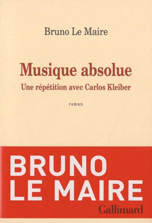 Couverture Musique absolue: Une répétition avec Carlos Kleiber