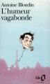 Couverture L'humeur vagabonde Editions Gallimard  1979