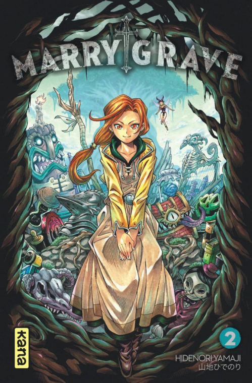 Couverture Marry Grave, tome 2