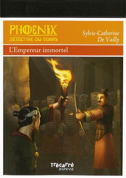 Couverture Phoenix, détective du temps : L'empereur immortel