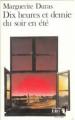 Couverture Dix heures et demie du soir en été Editions Folio  1991
