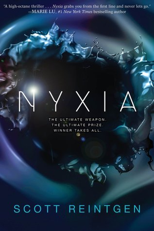 Couverture The Nyxia Triad, book 1: Nyxia