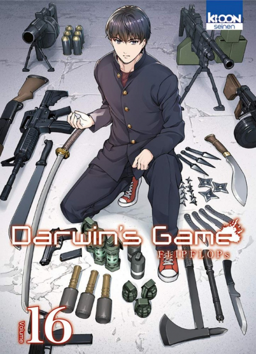 Couverture Darwin's Game, tome 16