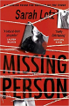 Couverture Missing Person Editions Hodder 2020