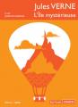 Couverture L'île mystérieuse Editions Thélème 2018