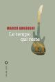 Couverture Le temps qui reste Editions Liana Lévi (Littérature étrangère) 2019