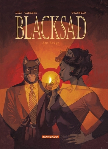 Couverture Blacksad, tome 3 : Ame rouge