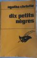 Couverture Dix petits nègres Editions Le Masque 1974