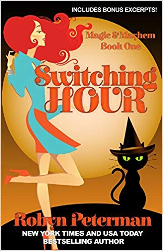 Couverture Magic and Mayhem, book 1 : Switching Hour
