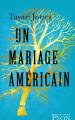 Couverture Un mariage américain Editions Plon (Feux croisés) 2019