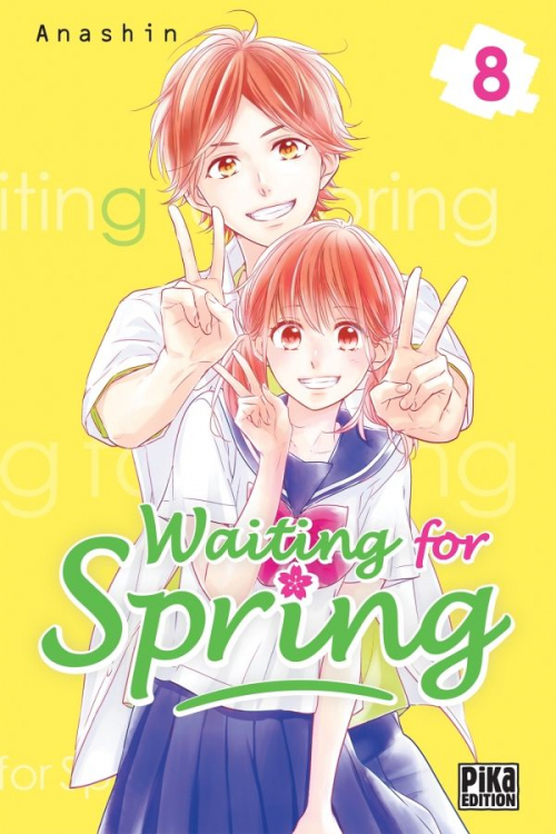 Couverture Waiting for spring, tome 08