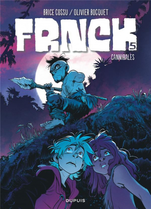 Couverture Frnck, tome 5 : Cannibales