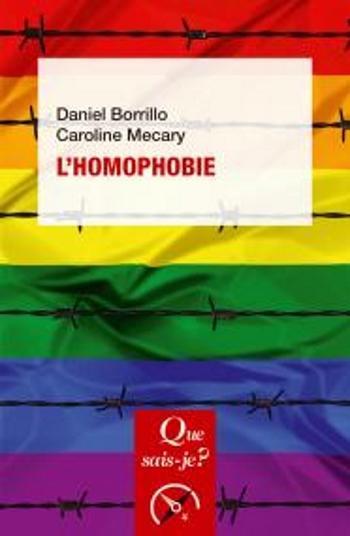 Couverture Que sais-je ? : L'homophobie