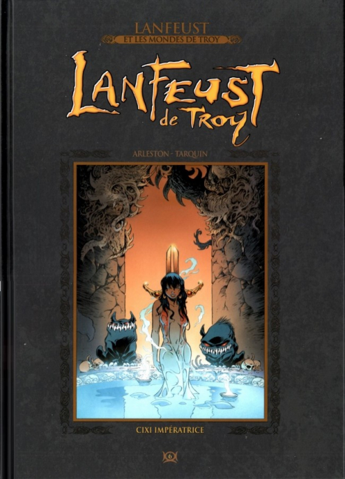 Couverture Lanfeust de Troy, tome 6 : Cixi Impératrice