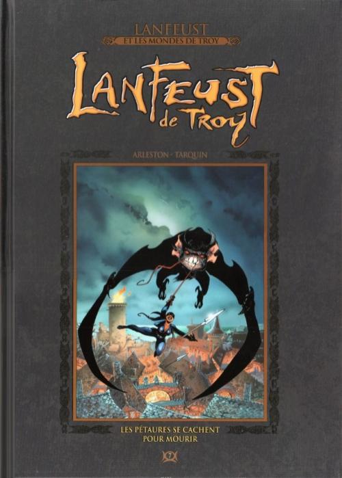 Couverture Lanfeust de Troy, tome 7 : Les pétaures se cachent pour mourir