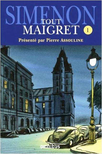 Couverture Tout Maigret, tome 01