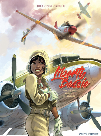 Couverture Liberty Bessie, tome 1 : Un pilote de l'Alabama