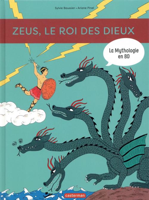 Couverture La mythologie en BD : Zeus, le roi des Dieux