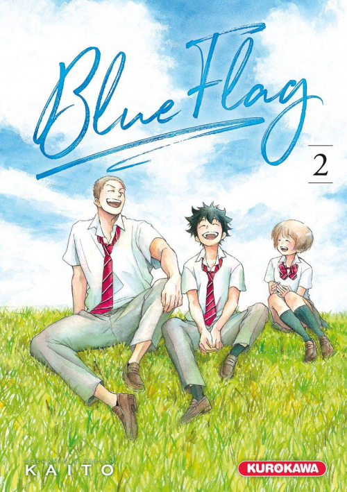 Couverture Blue Flag, tome 02