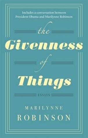 Couverture The Givenness of Things