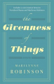 Couverture The Givenness of Things  Editions Virago Press 2016