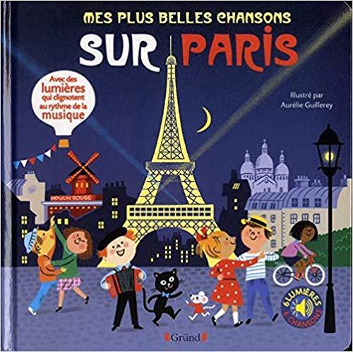 Couverture Mes plus belles chansons sur Paris