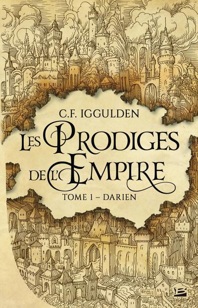 Couverture Les Prodiges de l'Empire, tome 1 : Darien