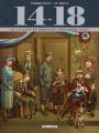 Couverture 14-18, tome 10 : La lune en héritage (novembre 1918) Editions Delcourt (Histoire & histoires) 2018