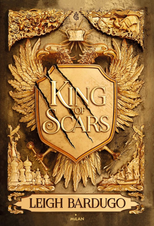 Couverture King of Scars, tome 1