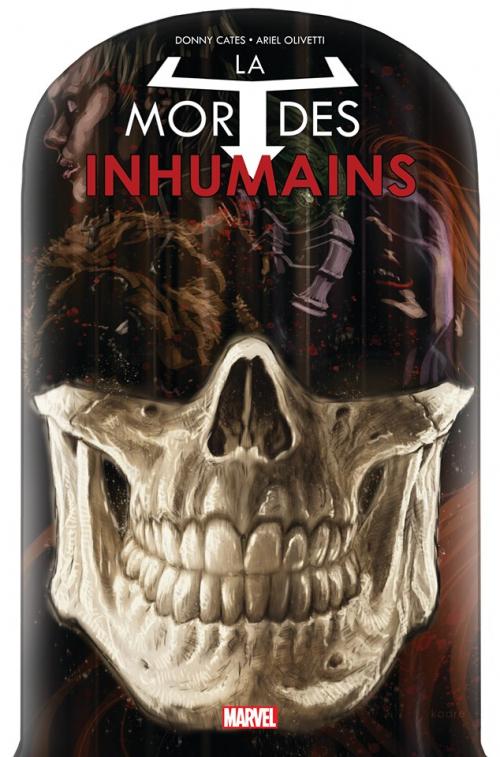 Couverture La Mort des Inhumains