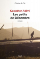 Couverture Les petits de décembre Editions Seuil (Fiction & cie) 2019