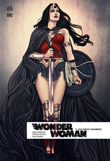 Couverture Wonder Woman Rebirth, tome 7 : Les Dieux Sombres