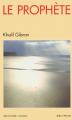 Couverture Le prophète Editions Albin Michel (Spiritualités vivantes) 1990