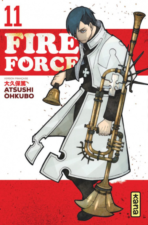 Couverture Fire Force, tome 11