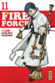 Couverture Fire Force, tome 11 Editions Kana (Shônen) 2019