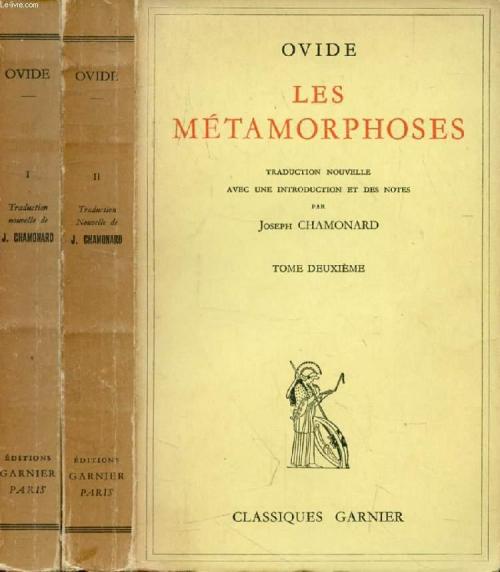 Couverture Les Métamorphoses, tome 1