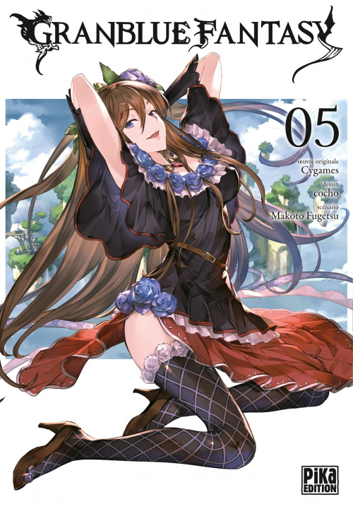 Couverture Granblue Fantasy, tome 5