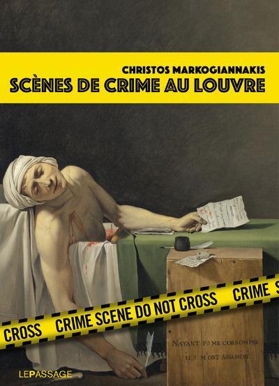 Couverture Scènes de crime au Louvre