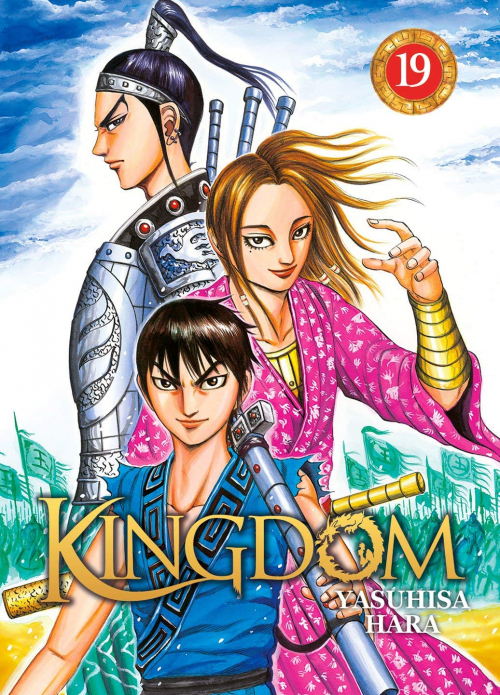 Couverture Kingdom, tome 19
