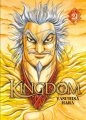 Couverture Kingdom, tome 21 Editions Meian 2019