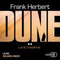 Couverture Le Cycle de Dune (7 tomes), tome 2 : Dune, partie 2 Editions Lizzie 2019