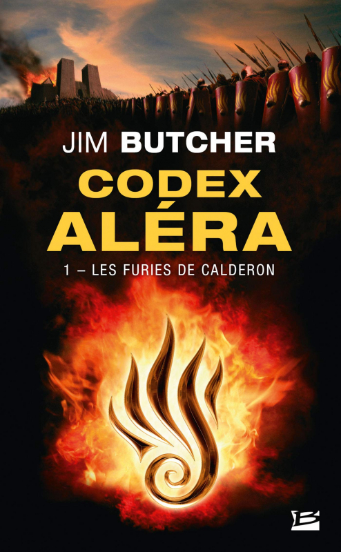 Couverture Codex Aléra, tome 1 : Les Furies de Caldéron