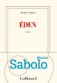 Couverture Éden Editions Gallimard  (Blanche) 2019
